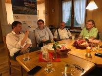 Austausch mit Georg Steiner, Kreisvorsitzender und stv. Fraktionobmann der CSU Passau.