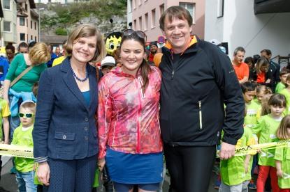 Der Vorarlberg bewegt-Kindermarathon: Ein Höhepunkt für Bludenz.